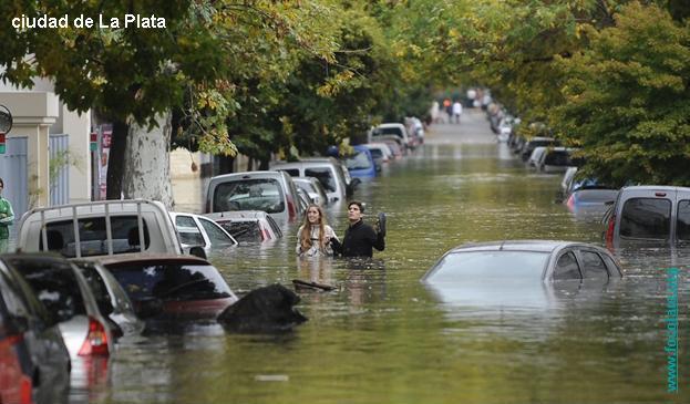 Las últimas inundaciones
