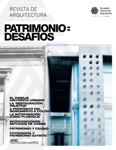 Revista de Arquitectura #256 / PATRIMONIO: DESAFÍOS