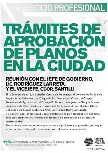 Los trámites de aprobación de planos en la Ciudad de Buenos Aires