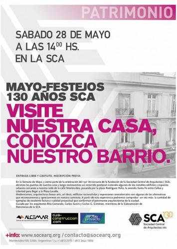 Flyer VISITE NUESTRA CASA
