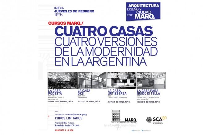 ARQUITECTURA, DISEÑO Y CIUDAD EN EL MARQ.  Cursos en el MARQ. 2017