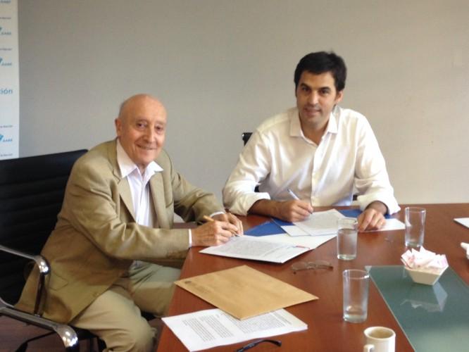 Firma Convenio con la AABE para organizar el Concurso Nacional de Ideas Preliminares en las playas ferroviarias de la Estación Colegiales