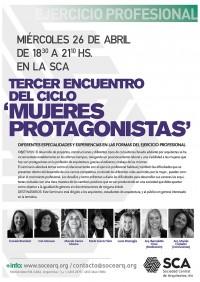 tercer-encuentro-del-ciclo-mujeres-protagonistas-diferentes-especialidades-y-experiencias-en-las-formas-del-ejercicio-profesional