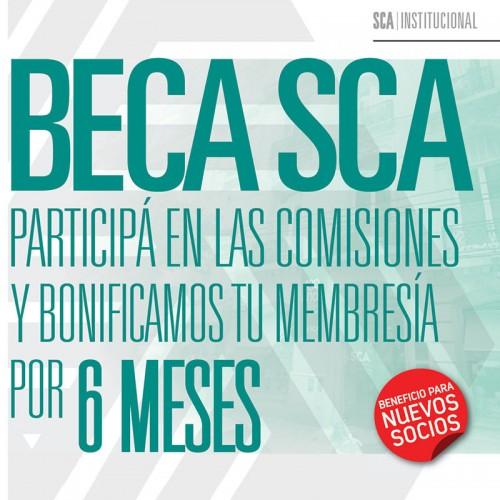 BECA SCA. BENEFICIO PARA NUEVOS SOCIOS