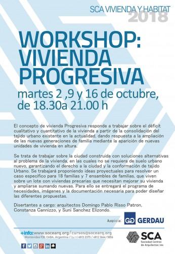 Workshop Vivienda Progresiva