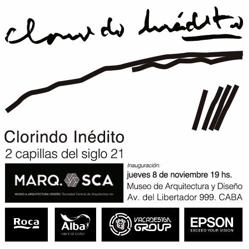 """Inauguración muestra """"Clorindo inédito. 2 capillas del siglo 21"""""""