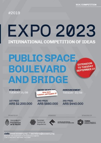"""INTERNATIONAL COMPETITION OF IDEAS EXPO 2023 – COMPETITION 6 """"PUBLIC SPACE, BOULEVARD AND BRIDGE"""": CONSULTATION ROUND"""