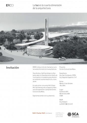 Charla: La luz es la cuarta dimensión de la arquitectura