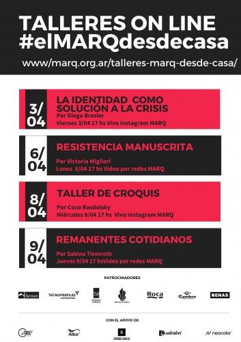 talleres on line EL MARQ DESDE CASA1