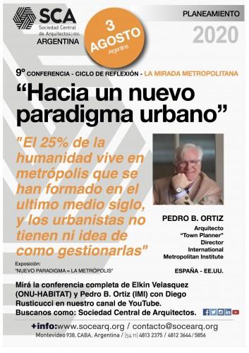 """Repercusiones del noveno encuentro """"Hacia un nuevo paradigma urbano - La mirada metropolitana / internacional"""""""
