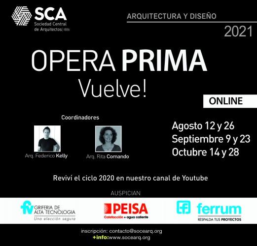 Opera Prima 2021 Vuelve