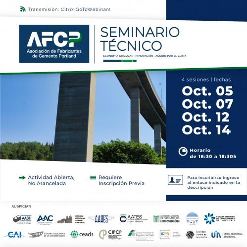 Seminario Técnico - Asociación de Fabricantes de Cemento Portland