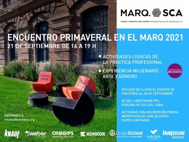 Evento Primaveral en el Marq-SCA 2021